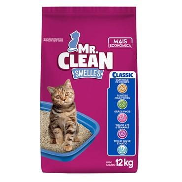 Granulado Higiênico Mr. Clean Smelles Classic 12 kg