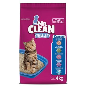 Granulado Higiênico Mr. Clean Smelles Classic 4 kg