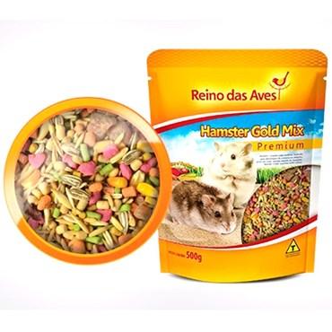 Hamster Gold Mix Premium Reino das Aves 500g