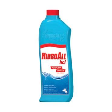HCL Choque Algicida Para Piscina 1l - Hidroall