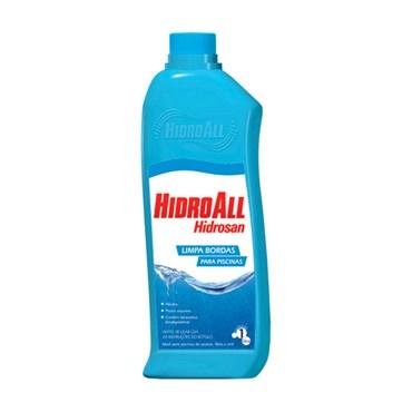 HCL Limpa Bordas Para Piscinas 1l - Hidroall