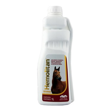 Hemolitan Suplemento Vitamínico e Mineral Para Equinos - Vetnil