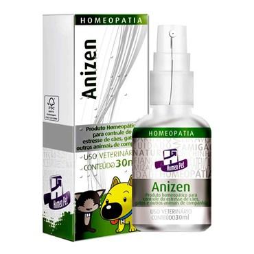 Homeopatia para Controle de Estresse Anizen Homeopet de Uso Veterinário 30ml
