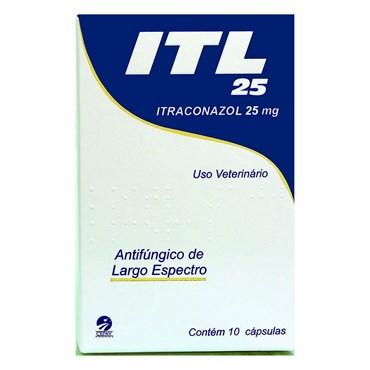 ITL 25mg Itraconazol - 10 Cápsulas