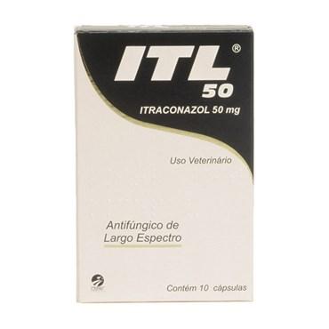 ITL 50mg Itraconazol - 10 Cápsulas