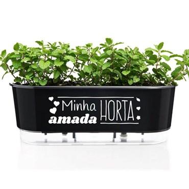 Jardineira Autoirrigável Minha Amada Horta Raiz - 40cm