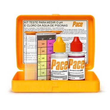Kit de Teste Para Piscinas pH e Cloro - Pace