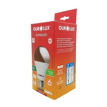 Lâmpada Led Superled Alta Potência 20W Bivolt 6500k - Ourolux