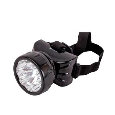 Lanterna de Cabeça de LED Recarregável 1 + 8 LEDs - DP Electron