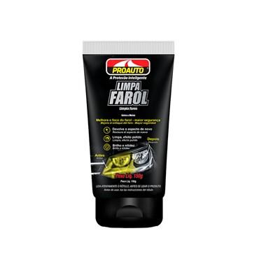 Limpa Farol Melhora o Foco do Farol 150g - Proauto