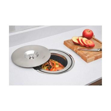 Lixeira Inox Embutir Clean 8 LT 94518/000