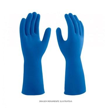 Luva Mucambo Profissional 137 Multiuso Azul