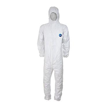 Macacão de Proteção Impermeável Tyvek® 500 Branco Tamanho L/G - Dupont