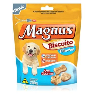 Magnus Biscoito Cães Filhotes 200g