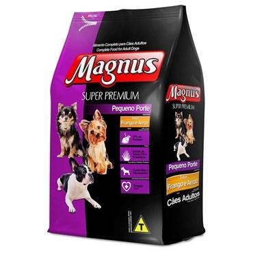 Magnus Super Premium Cães Adultos Pequeno Porte Sabor Frango e Arroz