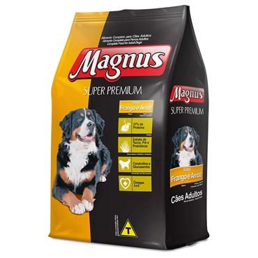 Magnus Super Premium Cães Adultos Sabor Frango e Arroz 15kg