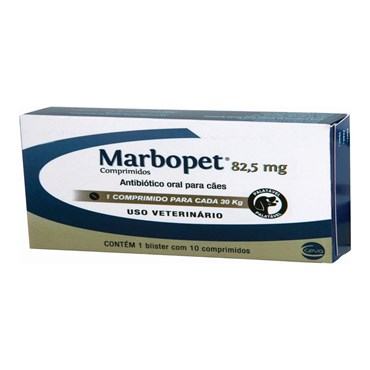 Marbopet 82 mg - 10 Comprimidos