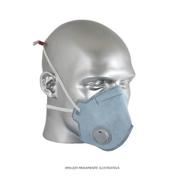 Máscara Descartável Com Válvula Respirador PFF-2S Plus Tam. Único - Maskface