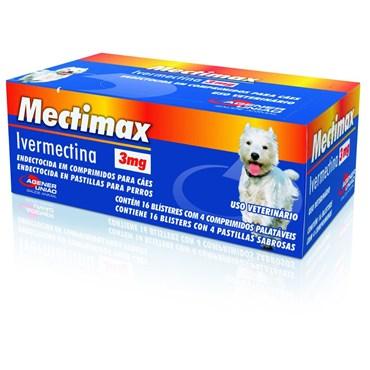Mectimax 3 mg - 4 Comprimidos