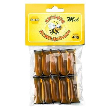 Mel Com Própolis Sachê 40g - 10 Unidades - Ki-Mel Quilombo