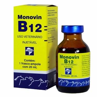Monovin B12 - Complexo Concentrado de Vitamina B12 com 20ml - Bravet