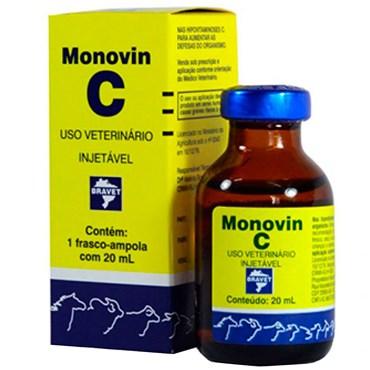 Monovin C - Complexo Concentrado de Vitamina C com 20ml - Bravet