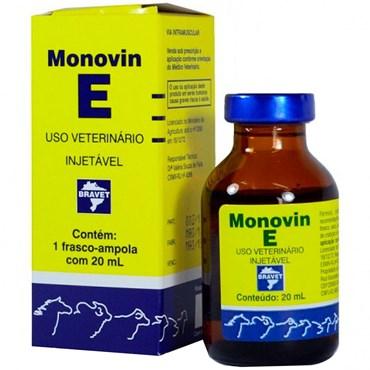 Monovin E - Complexo Concentrado de Vitamina E com 20ml - Bravet