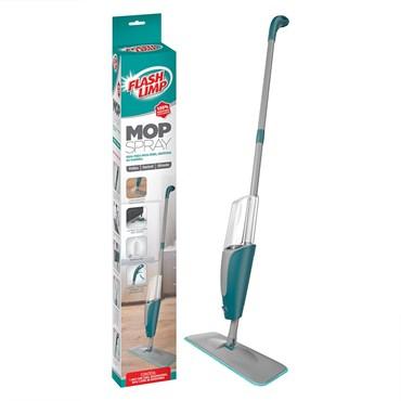 Mop Spray Limpeza de Pisos Frios, Sintéticos, Madeira - Flash Limp