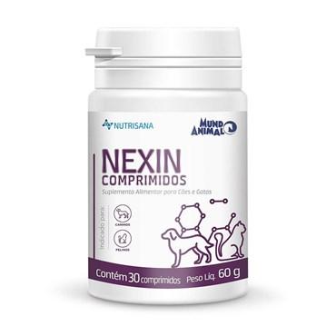 Nexin Comprimidos Suplemento Alimentar Para Cães e Gatos 30 Comprimidos - Mundo Animal