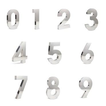 Número Residencial em Inox Polido - Full HD Produtos em Inox