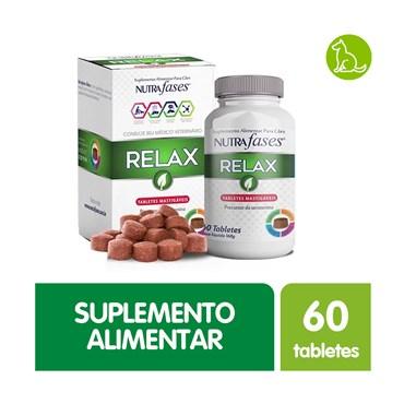 Nutrafases Relax Suplemento Alimentar Vetzam para Cães 60 Tabletes