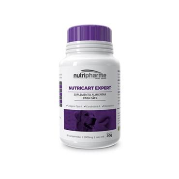 Nutricart Expert Suplemento Alimentar para Cães 1000mg - 30 Comprimidos