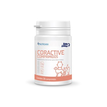 Nutrisana Coractive Suplemento Alimentar para Cães e Gatos - 30 comprimidos