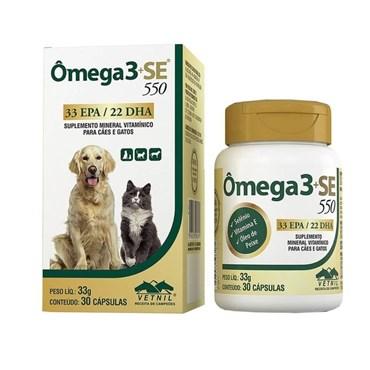 Ômega 3+SE Suplemento Mineral Vitamínico - Vetnil