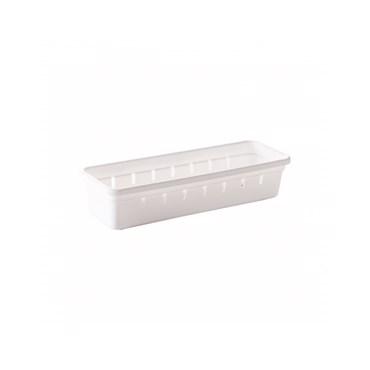 Organizador de Gaveta em Plástico L1 22,5x7,9x5,0 cm - Plasútil