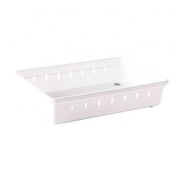 Organizador de Gaveta em Plástico L2 22,5x15,4x5,0 cm - Plasútil