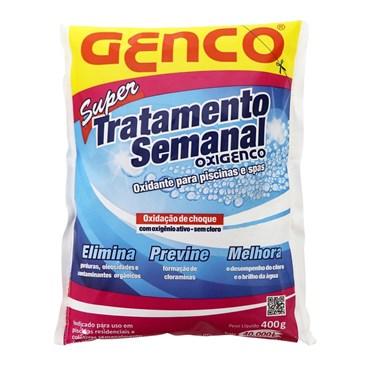 Oxidante Para Piscinas Oxigenco Super Tratamento Semanal 400g - Genco