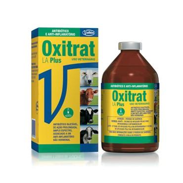 Oxitrat LA Plus Antibiótico e Anti-Inflamatório Injetável 50ml - Vallée