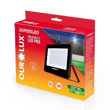 Painel Refletor/Projetor Led Pro 10W - 3000K Bivolt - Ourolux