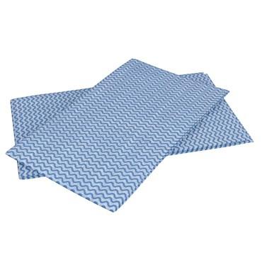 Pano Multiuso Azul Rolo Com 25 Unidades - Flash Limp