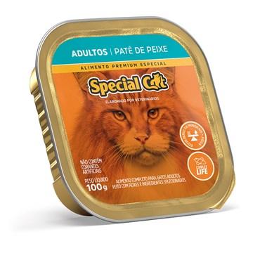 Patê Special Cat para Gatos Adultos Sabor Peixe 100 g