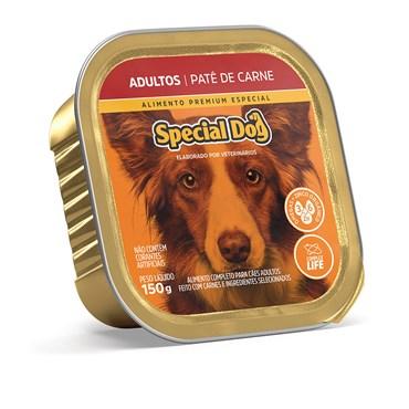 Patê Special Dog para Cães Adultos Sabor Carne 150 g