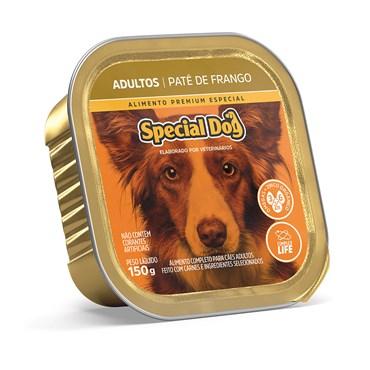 Patê Special Dog para Cães Adultos Sabor Frango 150 g