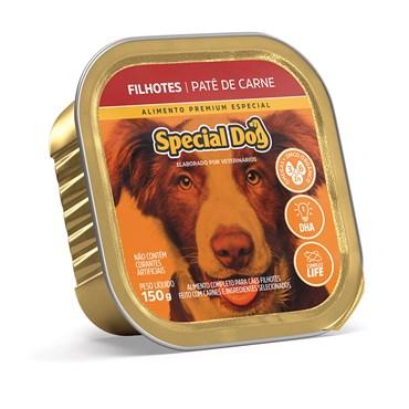 Patê Special Dog para Cães Filhotes Sabor Carne 150 g