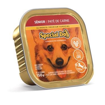 Patê Special Dog para Cães Sênior Sabor Carne 150 g