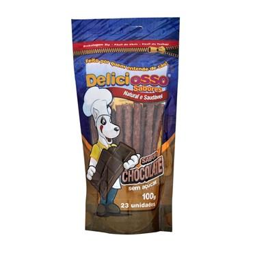 Petisco Deliciosso para Cães Sabor Chocolate 100 g