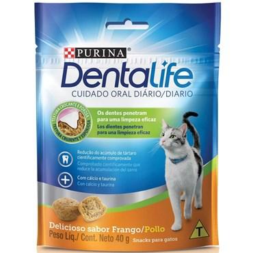 Petisco DentaLife para Gatos Sabor Frango 40g - Purina
