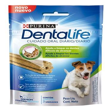 Petisco Dentalife Purina Cães Raças Pequenas 42g