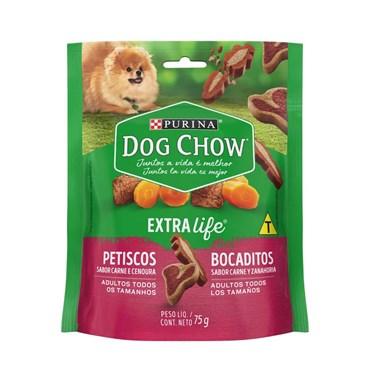 Petisco Dog Chow Carinhos Mix Carne Cenoura 75g