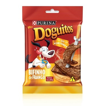 Petisco Doguitos Purina para Cães Sabor Frango 65g